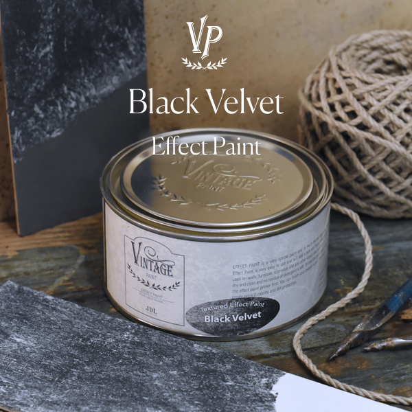 Effect paint - Black Velvet 250ml