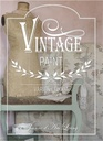 FI 2 Vintage Paint Book 160 pages Finnish