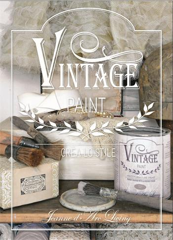 IT1 Vintage Paint Book 160 pages Italian