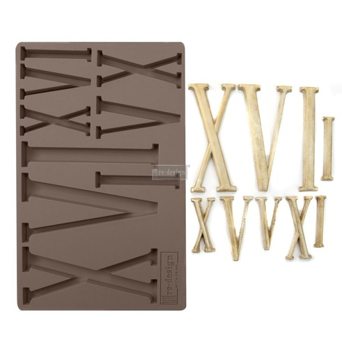 Redesign decor moulds 5x8 numerals