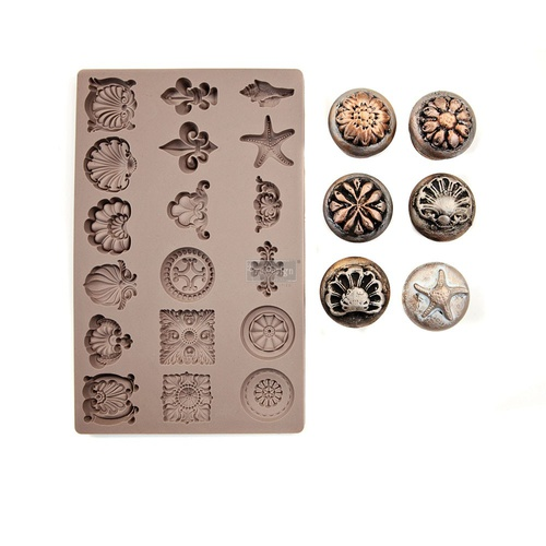 Redesign decor moulds 5x8 seashore treasures