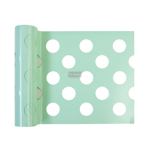 "Redesign Stick & Style® - Multi-Large Dot - 1 roll - 7in x 3yds (6"" design)"
