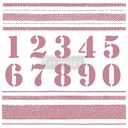[655350649210] Redesign Decor Clear-Cling Stamps - Stripes