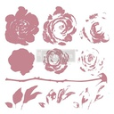 [655350649418] Redesign Decor Clear-Cling Stamps - Mystic Rose