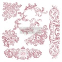 [655350650100] Redesign Decor Clear-Cling Stamps - Chateau De Maisons