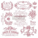 [655350650124] Redesign Decor Clear-Cling Stamps - I See Paris