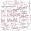 [655350649647] Redesign Decor Clear-Cling Stamps - Handwritten Note