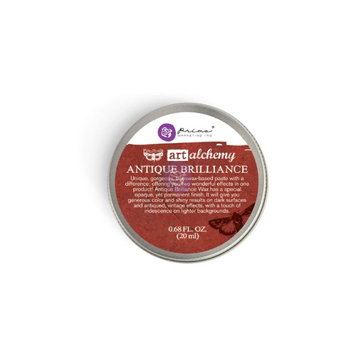 Art Alchemy - Antique Brilliance Wax - Fire Ruby