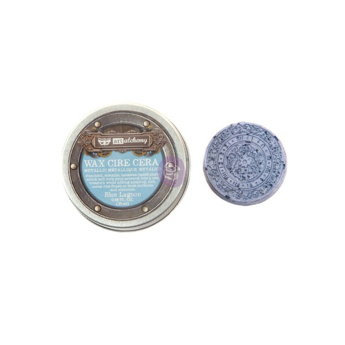 Art Alchemy - Metallique Wax - Blue Lagoon