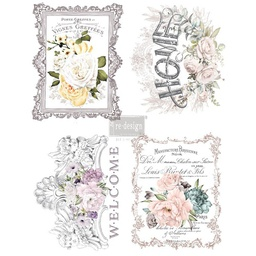 [655350635527] Redesign decor transfers floral home 11x 15 each design