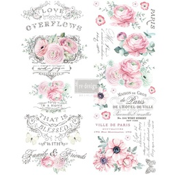 [655350636890] Redesign decor transfers overflowing love