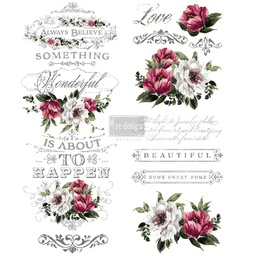 [655350636906] Redesign decor transfers hopeful wishes