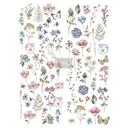 [655350636937] Redesign decor transfers delicate fleur 22x 30 Rub on