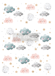[655350642976] Redesign decor transfers sweet lullaby 24x35 into 3 sheets